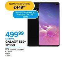 Samsung galaxy s10+ 128gb-Samsung