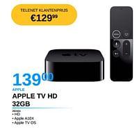 Apple tv hd 32gb-Apple