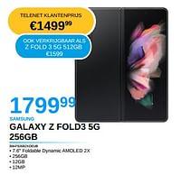 Samsung galaxy z fold3 5g 256gb-Samsung