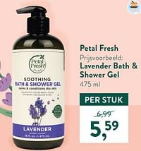 Lavender bath + shower gel-Petal Fresh