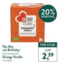 Orange vanilla-Bio Today