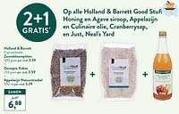 Zonnebloempitten + geraspte kokos + appelazijn natuurtroebel-Huismerk - Holland & Barrett