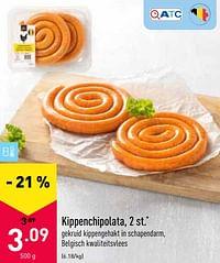 Kippenchipolata-Huismerk - Aldi
