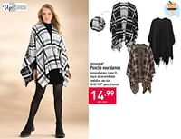Poncho voor dames-UP2Fashion