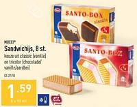 Sandwichijs-Mucci