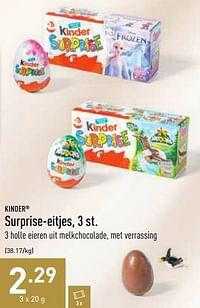 Surprise-eitjes-Kinder