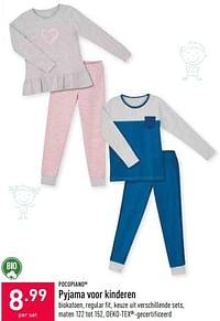 Pyjama voor kinderen-POCOPIANO