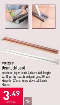 Deurtochtband-Workzone