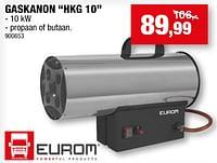 Eurom gaskanon hkg 10-Eurom