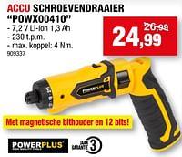 Powerplus accu schroevendraaier powx00410-Powerplus