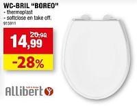 Wc-bril boreo-Allibert