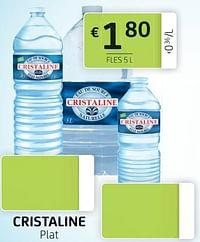Cristaline plat fles 5 l-Cristaline