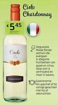 Cielo chardonnay-Witte wijnen