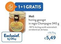 Meli honing geoogst in regio champagne-Meli