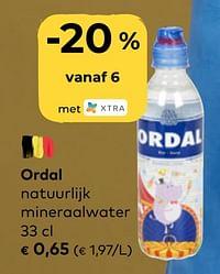 Ordal natuurlijk mineraalwater-Ordal