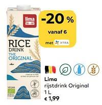 Lima rijstdrink original-Lima