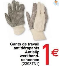 Gants de travail antidérapants antislip werkhandschoenen-Huismerk - Cora