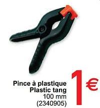 Pince à plastique plastic tang-Huismerk - Cora