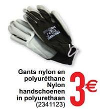 Gants nylon en polyuréthane nylon handschoenen in polyurethaan-Huismerk - Cora