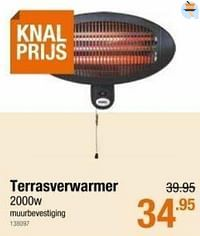 Terrasverwarmer-Huismerk - Cevo