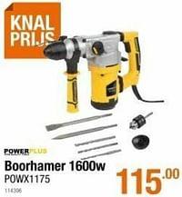 Powerplus boorhamer powx1175-Powerplus