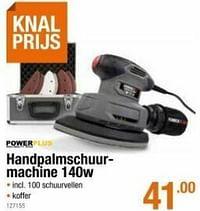 Powerplus handpalmschuur- machine-Powerplus