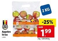 Appelen in tas-Huismerk - Lidl