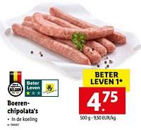 Boerenchipolata's-Huismerk - Lidl