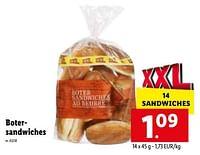 Botersandwiches-Huismerk - Lidl