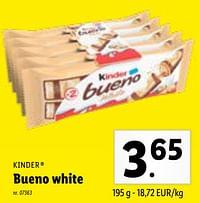 Bueno white-Kinder