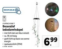 Decoratief ledsolarwindspel-Livarno