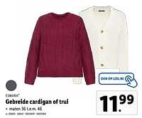 Gebreide cardigan of trui-Esmara