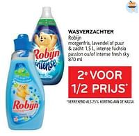 Wasverzachter robijn 2e voor 1-2 prijs-Robijn