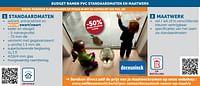 Budget ramen pvc standaardmaten en maatwerk -50% Reeds verrekend in prijs-Huismerk - Zelfbouwmarkt