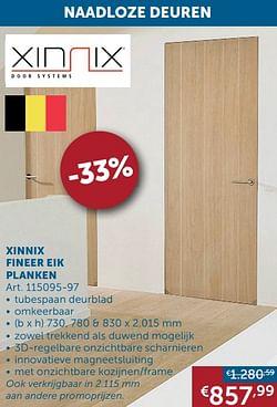 Xinnix fineer eik planken