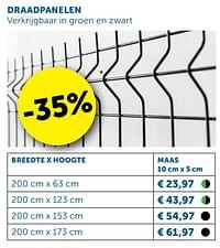 Draadpanelen-Huismerk - Zelfbouwmarkt