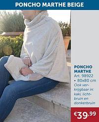 Poncho marthe-Huismerk - Zelfbouwmarkt