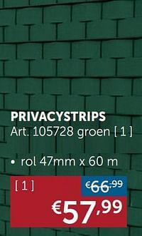 Privacystrips groen-Huismerk - Zelfbouwmarkt