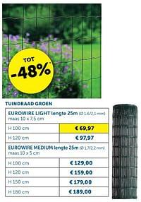 Tuindraad groen-Huismerk - Zelfbouwmarkt