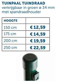 Tuinpaal tuindraad-Huismerk - Zelfbouwmarkt