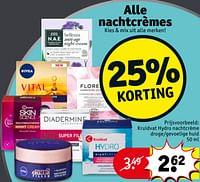 Kruidvat hydro nachtcrème droge-gevoelige huid-Huismerk - Kruidvat
