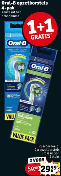 Oral-b opzetborstels cross action-Oral-B