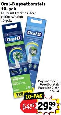 Oral-b opzetborstels precision clean-Oral-B