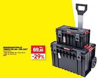 Gereedschapstrolley qbrick pro 500 + one cart-Qbrick