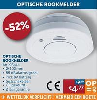 Optische rookmelder-Huismerk - Zelfbouwmarkt