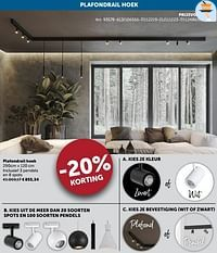 Plafondrail hoek-Huismerk - Zelfbouwmarkt