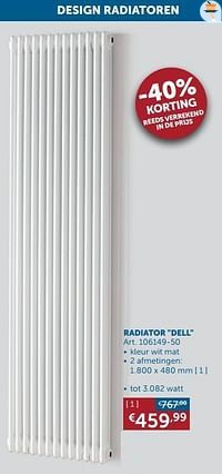 Radiator dell-Beauheat