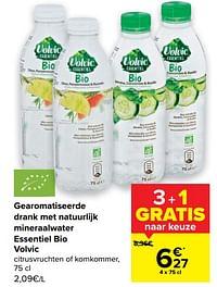 Gearomatiseerde drank met natuurlijk mineraalwater essentiel bio volvic-Volvic