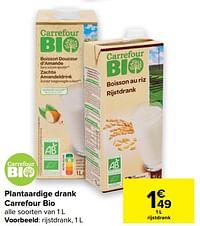 Rijstdrank-Huismerk - Carrefour