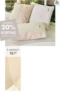 Kussen abstract-Huismerk - Casa